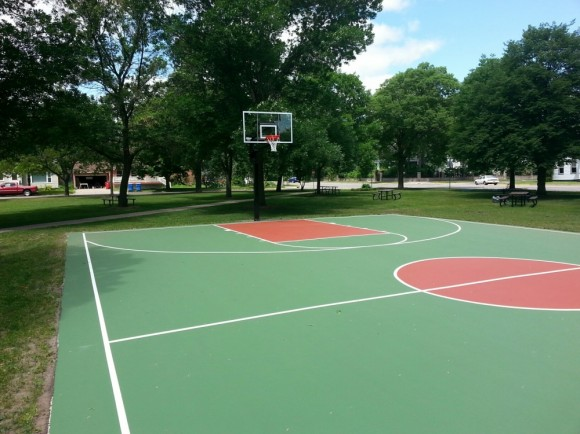 Sinclair Park completed court